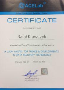 certyfikat odzyskiwanie danych